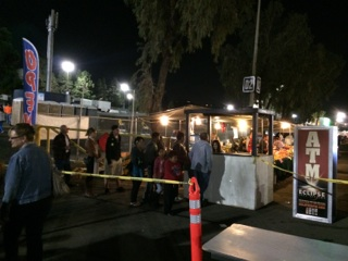 ATM Booth and Food Truck